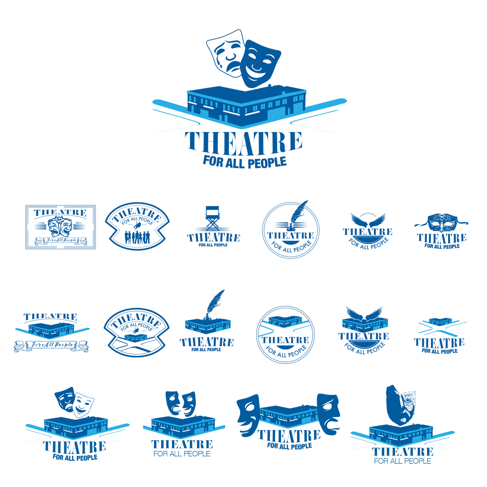 Recent Work -Theatre For All People, Logo