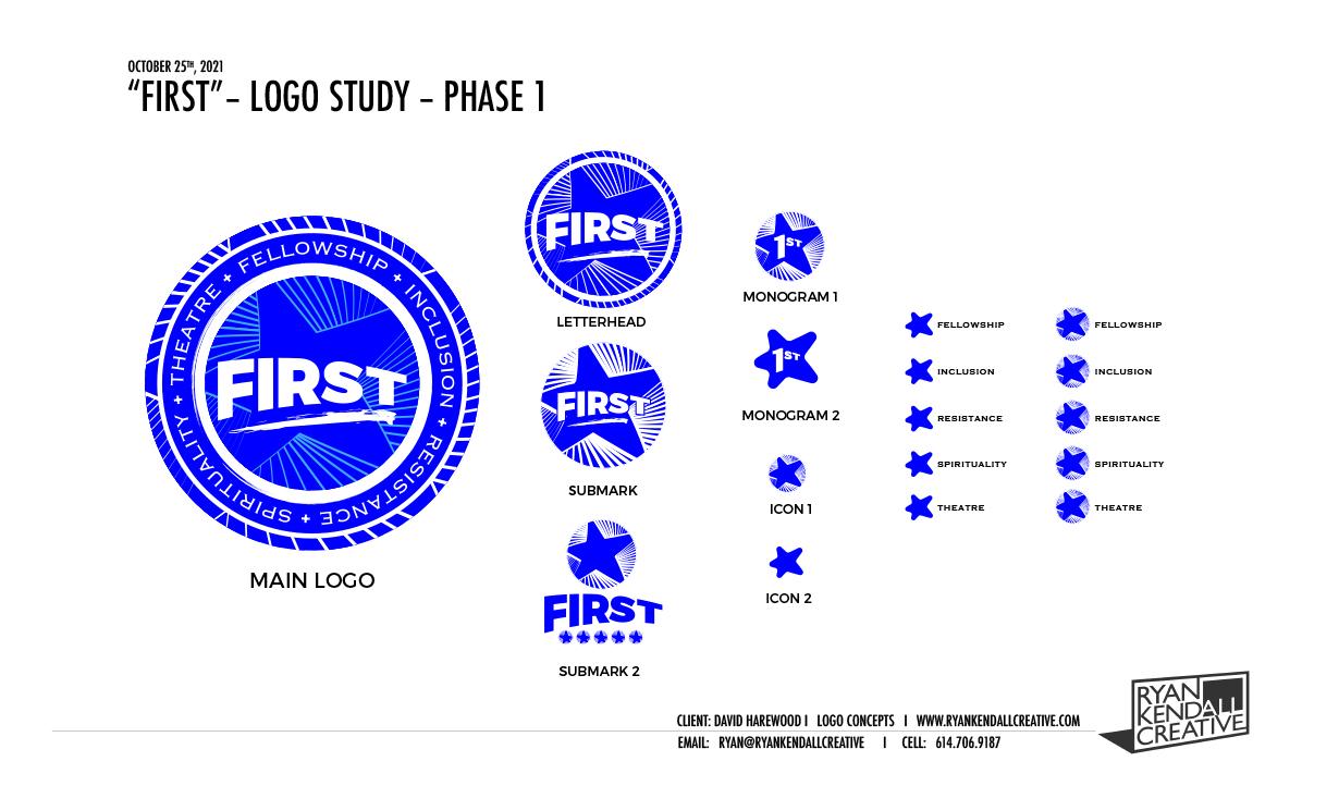 F.I.R.S.T Pro-Bono Logo Study
